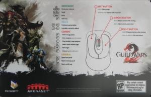A Guild Wars 2 jelenlegi billentyűzet kiosztása