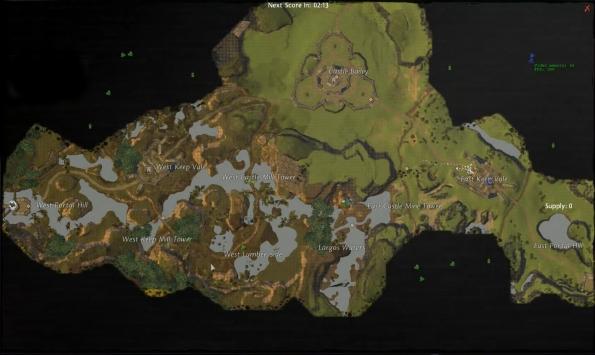 World vs World vs World térkép